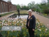 Joan at St. Louis tulip garden 2012