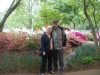 Joan and Dan at Missouri Botanical Garden 2012