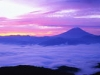 fuji-sunset-in-fog