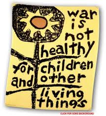 Anti-War not healthy