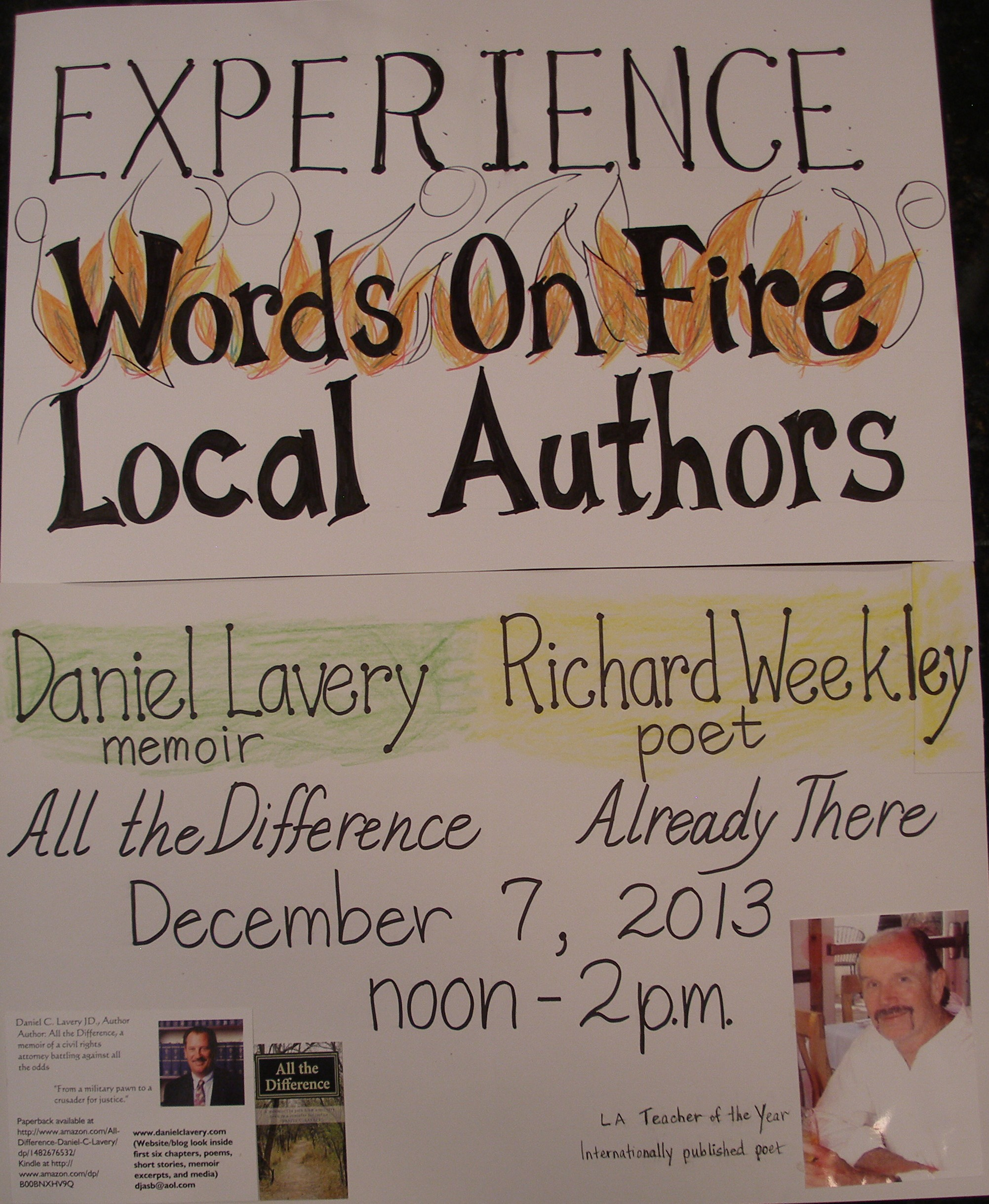 Words on Fire Poster