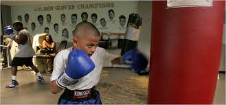 Scientists Cliffs tough Boxer boy