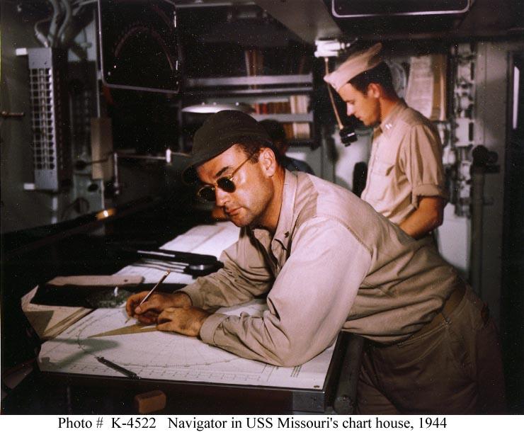 Vietnam Navigator in charthouse