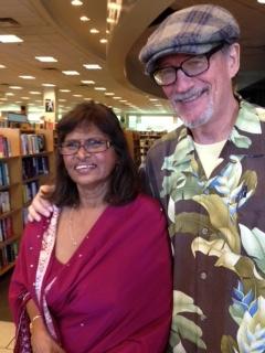 Teera and Dan at book signing 9515