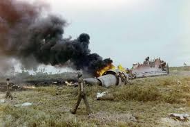 C 130 Crashed in Vietnam