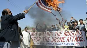 Drone protest stop the muslim killing